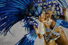Fotogalería: Colores de Carnaval en Río