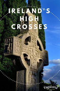 High crosses have become a symbol of Ireland's ancient past. As the Roman Empire was crumbling in the 5th century, the Irish Celts were beginning to embrace Christianity. Putting their own stamp on the religion & in turn developing a distinctive artistic style. This style became known as...