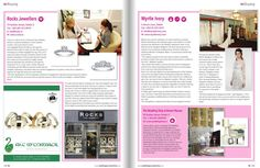Did you spot Rocks Jewellers in the Autumn edition of Ireland's Wedding Journal let's shop Grafton Street section? www.rocks.ie