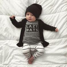 316cd0492e6 Beau Hudson Signature Cardigan - Jet Black  Mintedmethodshop.com Baby Boy  Outfits Newborn