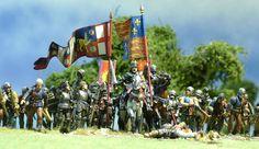 BATTLE OF TEWKSBURY -GLOSTERSHIRE ENGLAND MAY 1471