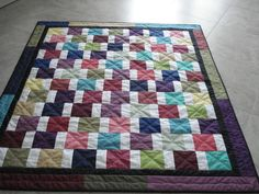 Another scrappy quilt from kubby343434 from the Quilting Board