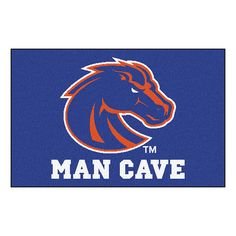 Boise State Broncos NCAA Man Cave Starter Floor Mat (20in x 30in)