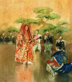 江戸時代 歴史 絵画 The No Dance by Robert Frederick Blum