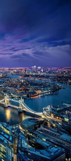 Tower bridge over the River Thames at twilight in London looks magical.