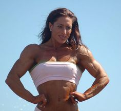 A picture of Marthe Sundby. This site is a community effort to recognize the hard work of female athletes, fitness models, and bodybuilders. Female Athletes, Fitness Models, Women's Fitness, Female Bodies, Off Shoulder Blouse, Fit Women, Bodybuilding, Abs, Muscle