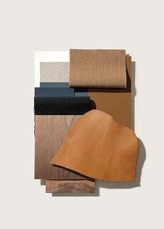 From the Sample Board to the Finished Product - Lievore Altherr Molina From the Sample Board to the Finished Product-See 3 great examples-Eclectic Trends Pantone, Mood Board Interior, Material Board, Mood And Tone, Color Studies, Colour Board, Color Pallets, Colour Schemes, Colour Palettes