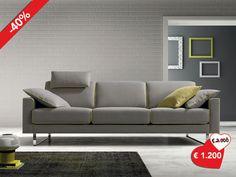 #Divano design moderno con un tocco di #colore da #ArredissimA