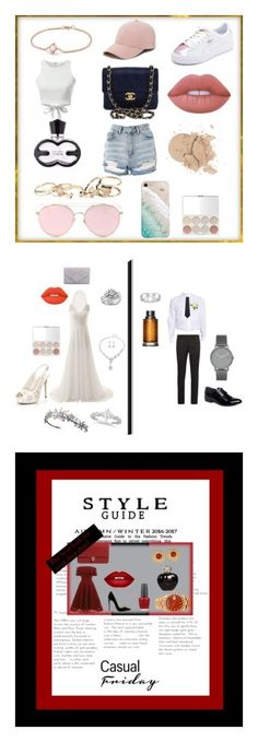 """""""mode collection"""" by caca-bouda ❤ liked on Polyvore featuring Topshop, Chanel, GUESS, Gray Malin, LMNT, Lime Crime, David Yurman, Puma, Sole Society and Lanvin"""