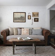 Gorgeous comfy lookin' sofa.