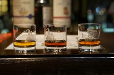 Want to throw your own home whiskey tasting? How many bottles? What kind of glasses to use? We've got you covered. Bourbon Mixed Drinks, Whiskey And You, Party Dips, Glass Photo, Scotch, Whisky, Rum, Bottles, Cocktail