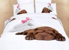Sleepy 4PC Duvet Cover Set (Twin Size)