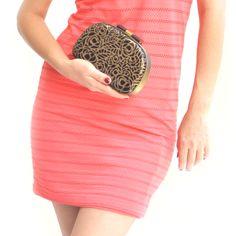 #rachanareddy #bags #clutch #india #wood #handcrafted #woodenclutch #flowerburst #fashion #elegant #nostalgic #summer #statementaccessory #ss14 #campaign #ecofashion #easybreezy #sorbet #roses   Shop here: www.rachanareddy.com