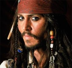 Captain Jack Sparrow :)