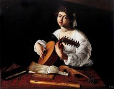 """""""The Lute Player"""" by Caravaggio"""