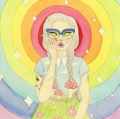 Wishcandy – Les émotions féminines illustrées par Sashiko Yuen