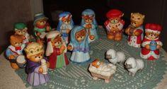 Enesco Lucy & Me Christmas Nativity