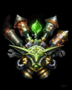 Warcraft - Goblin Crest