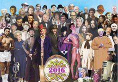 Sgt Pepper's: la copertina ridisegnata con le star scomparsa nel 2016
