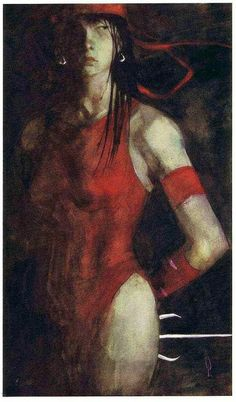 Elektra painting by George Pratt