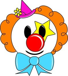 122 best clip art clowns clipart images on pinterest circus rh pinterest com evil clown clipart free clown clipart free