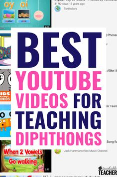 Phonics instruction - 11 Amazingly Helpful Videos to Teach Vowel Diphthongs to Students – Phonics instruction Team Teaching, Teaching Phonics, Phonics Activities, Teaching Reading, Work Activities, Teaching Ideas, Teaching Letters, Teaching Time, Reading Activities