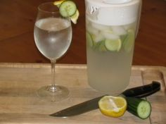 Cucumber Lemon Water - Detox