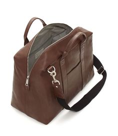 Jack Spade Mill Leather Wayne Duffle travel bag, $370 from Jack Spade  Class Class Class