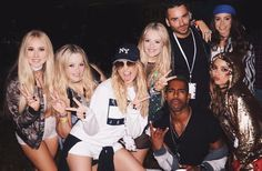 Pez, Lydia, Lucy, Ellie, Aaron, Danielle, Claudimer and Jade at V Festival ♥