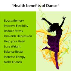 Dancing is a great way for people of all ages to get and stay in shape.
