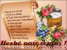 Přání k narozeninám « Rubrika | Blog u Květky Gladioli, Online Image Editor, Online Images, Ale, Let It Be, Ale Beer, Ales, Beer