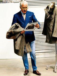 これがお手本! ミラノデニムのこなし方 | メンズファッションの決定版 | MEN'S CLUB(メンズクラブ)
