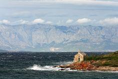 From Jelsa towards Makarska and Biokovo mountain