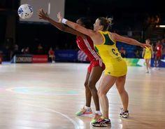 Australian Diamonds v Trinidad and Tobago Commonwealth Games 2014
