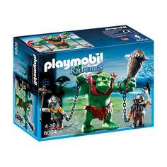 Nowy Zestaw Playmobil 6004 dla Dzieci od lat 4.   Olbrzymi Troll z 2 Figurkami Karłowatych Wojowników z Bronią i Akcesoriami.  Zbierz szybko wszystkich wojowników i razem brońcie królestwa.  Sprawdźcie sami:)  http://www.niczchin.pl/playmobil-zamek-i-smok/2808-playmobil-6004-olbrzymi-troll-z-karlowatymi-wojownikami.html  #playmobil #playmobil6004 #trollplaymobil #zabawki #niczchin #krakow