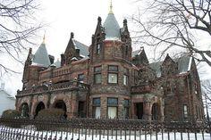 Sorg Mansion, Detroit, US - tragically abandoned
