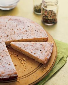 Peppercorn Shortbread