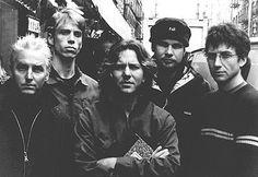 Pearl Jam - Mike, Matt, Eddie, Jeff, Stone