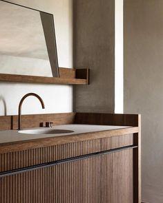 "Benoît Viaene's Instagram post: ""Morning Ritual #natural #simplicity #rawmaterials #timeless #interior #interiordesign #benoit_viaene #benoitviaene Design yours truly…"" Bad Inspiration, Bathroom Inspiration, Bathroom Interior Design, Interior Decorating, Interior Livingroom, Interior Paint, Bathroom Trends, Bathroom Ideas, Budget Bathroom"