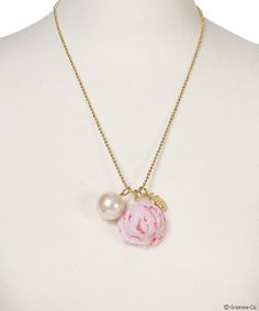 Strawberry Ice Necklace