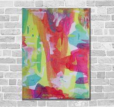 Kunstgalerie Winkler Abstrakte Acrylbilder Malerei Leinwand Unikat  Bilder Neu
