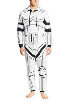 Star Wars Stormtrooper Jumpsuit will win Halloween costume awards and keep you warm while you're trick or treating.