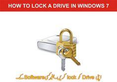 how to lock drive in windows 7 in Urdu / Hindi Computer Tips, Tutorials, Windows, Personalized Items, Youtube, Window, Ramen, Teaching