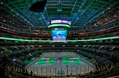 Best arena in the NHL! HP Pavilion at San Jose.
