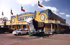 The Big Texan in Amarillo, TX, a Route 66 icon #RideColorfully