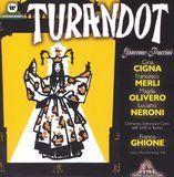 Puccini: Turandot [CD]