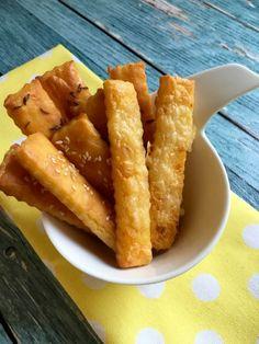 Rizslisztes sós rúd Gluten Free Diet, Lactose Free, Fodmap Diet, Vegan Desserts, Cornbread, Paleo, Keto, Food And Drink, Sweets