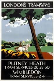Image result for london tramways posters