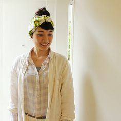 hair_09 Couture, Shibori, Headbands, Needlework, Crochet, Diy And Crafts, Bomber Jacket, Sewing, How To Make