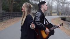 Louisa Wendorff and Devin Dawson cover Taylor Swifts's hits 'Blank Space' and 'Style' by singing and playing them at the same time.